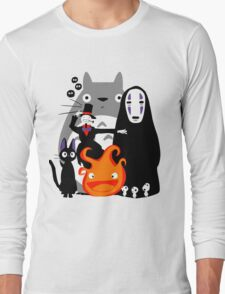 Ghibli'd Away Long Sleeve T-Shirt