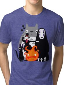 Ghibli'd Away Tri-blend T-Shirt