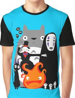 Ghibli'd Away Graphic T-Shirt