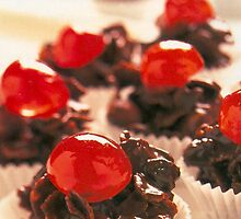 Cherry Cupcakes by TinaGraphics