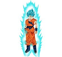 Super Saiyan God Super Saiyan Goku Photographic Print