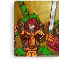 Bludgeon (Transformers) Canvas Print