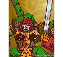 Bludgeon (Transformers) Photographic Print