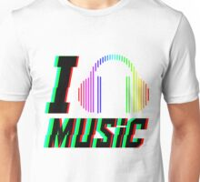 I Love Music! Unisex T-Shirt