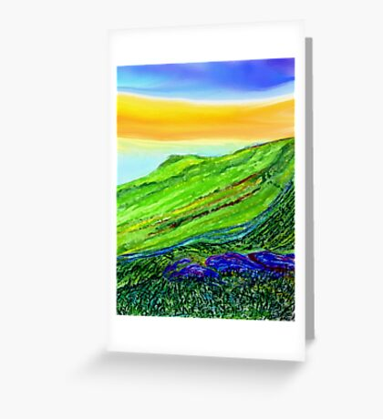 A Lovely Day Greeting Card