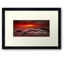 Burns Beach Framed Print