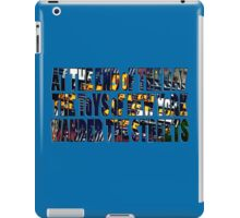 Toys of New York iPad Case/Skin