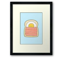bed and breakfast Framed Print