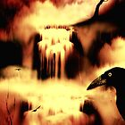 Ravens Nevermore - Bleach Print by Ron Moss