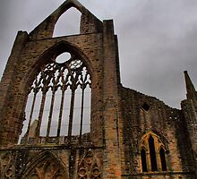 Tintern Abbey by kalaryder