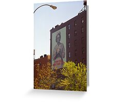 Retro Nurse poster, New York Greeting Card