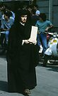 Church or Lawyer, C16 Costume Parade Florence Italy 19840708 0041 by Fred Mitchell