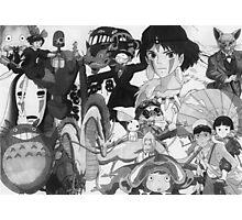 Studio Ghibli montage Photographic Print