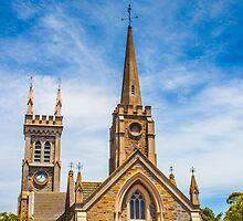 Church at Strathalbyn, SA by Bhavin Jadav