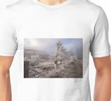 Winter in Storey arms Wales Unisex T-Shirt