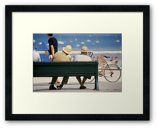 Couple at the seaside by Flo Smith