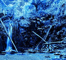 Mariners Falls in Blue by tmac
