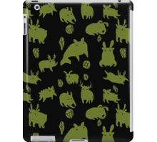 Weebeasts (olive and light green) iPad Case/Skin