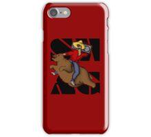 Kanye .. on a flying bear? iPhone Case/Skin