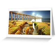 Port Noarlunga Jetty Greeting Card