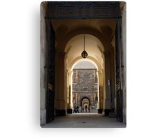 Archway Oxford University Canvas Print