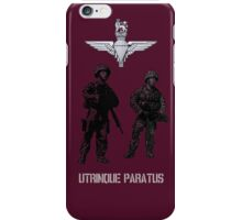 """Utrinque Paratus""- Ready for Anything iPhone Case/Skin"