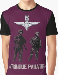 """Utrinque Paratus""- Ready for Anything Graphic T-Shirt"