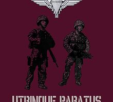 """Utrinque Paratus""- Ready for Anything by TimConstable"