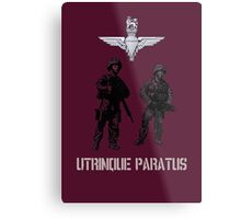 """Utrinque Paratus""- Ready for Anything Metal Print"