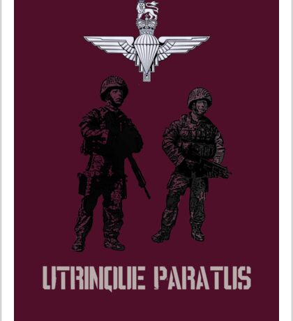 """""""Utrinque Paratus""""- Ready for Anything Sticker"""