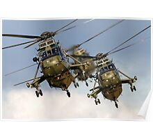Westland Sea King HC.4 Helicopters Poster