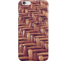 Basket Texture iPhone Case/Skin