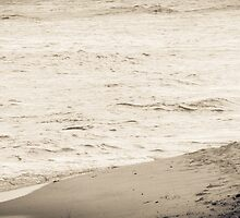 Lone Surfer by RedTreePhoto