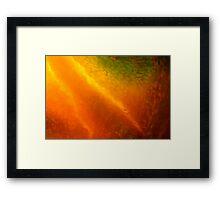 burning inside Framed Print