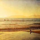 Surfers Sunset by Mareike Böhmer