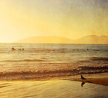 Surfers Sunset by Mareike Böhmer