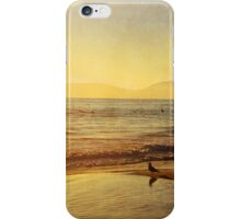 Surfers Sunset iPhone Case/Skin
