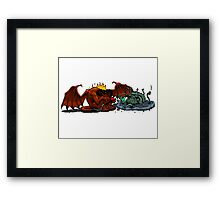 Balrog and Watcher in the Water Framed Print