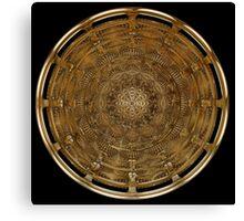 Ancient Shield Canvas Print