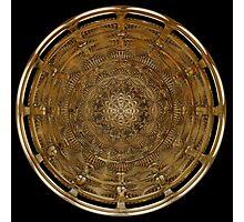 Ancient Shield Photographic Print