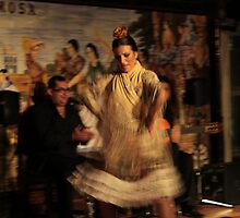 Flamenco, Villa Rosa, Madrid, Spain * by Justin Mitchell