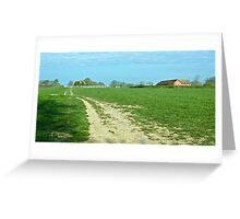 Downslink Farmstead Greeting Card