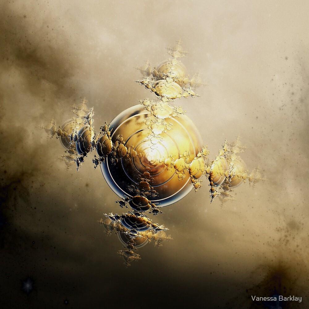Golden Globe by Vanessa Barklay