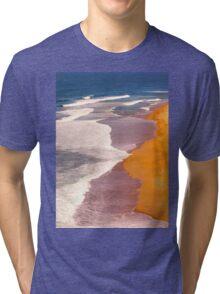 praia do norte. nazaré Tri-blend T-Shirt