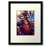 Captain JAS Hook Framed Print