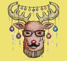 Deer Christmas & New Year Kids Tee