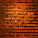 Brick Wall by James mcinnes