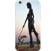 Woman and Child iPhone Case/Skin