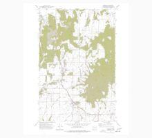 USGS Topo Map Washington State freeman wa histmap One Piece - Long Sleeve