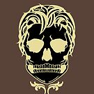 Skull Logo (Black & Gold) by AlliVanes